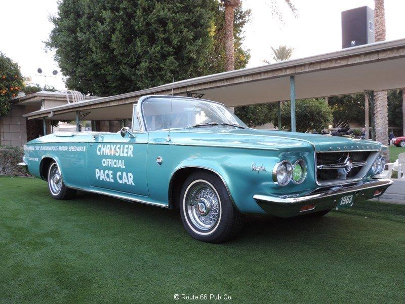 1963 Chrysler 300 Close Up