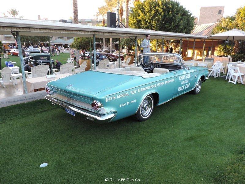 1963 Chrysler 300 Rear view