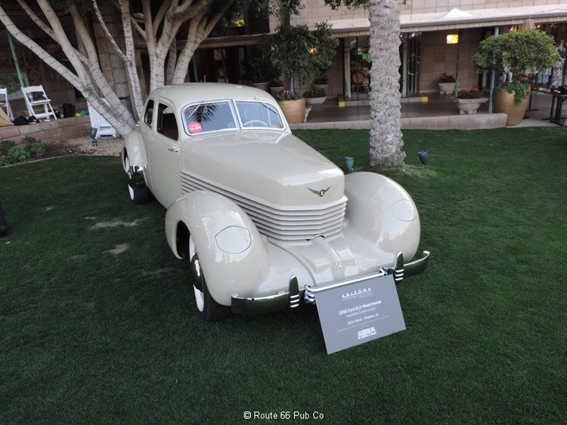 1937 Cord Front View