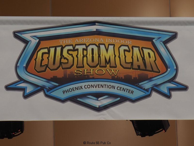 AZ Indoor Custom Car Show Banner