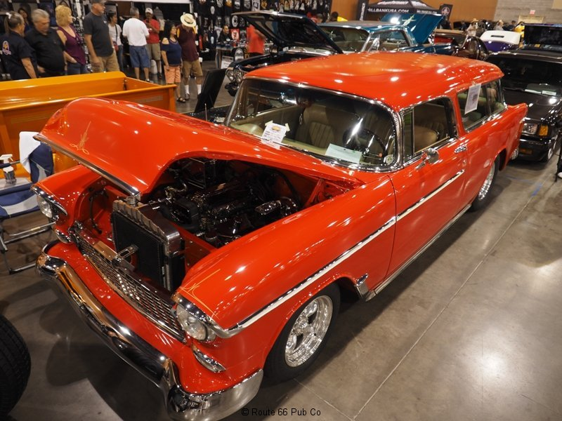 AZ Indoor Custom Car Show Tri Five
