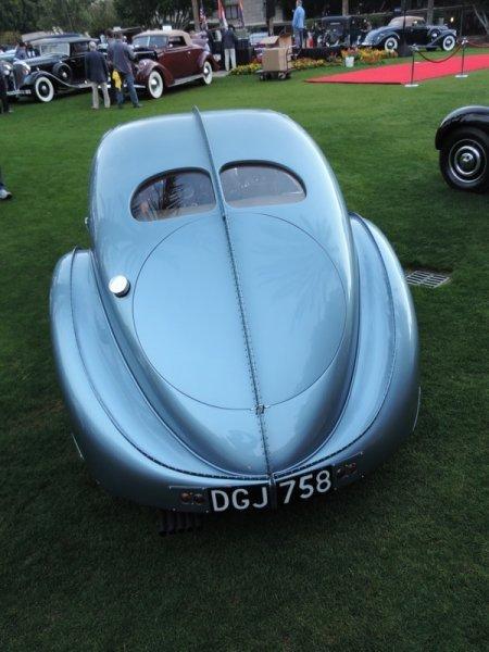 Bugatti Rearend