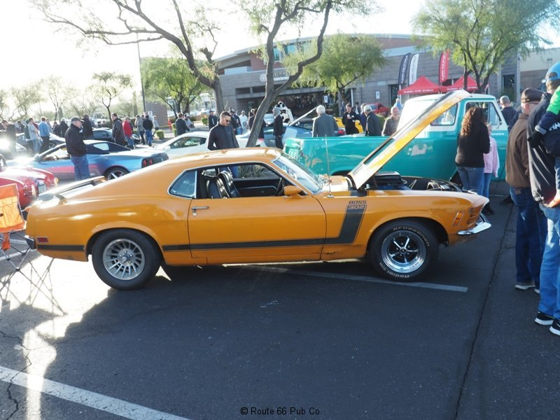 Cars and Coffee Ford Mustang