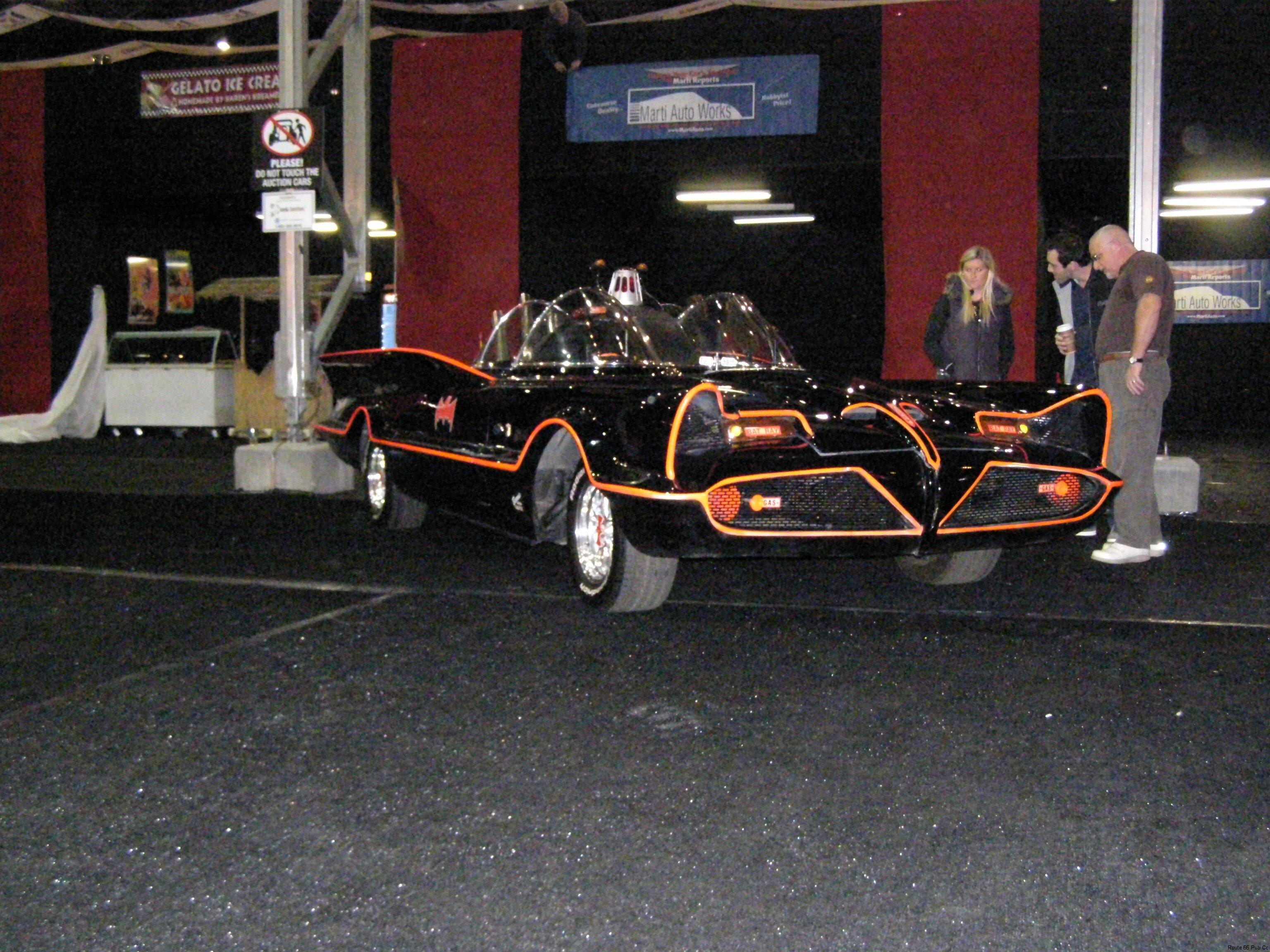 Batmobile view