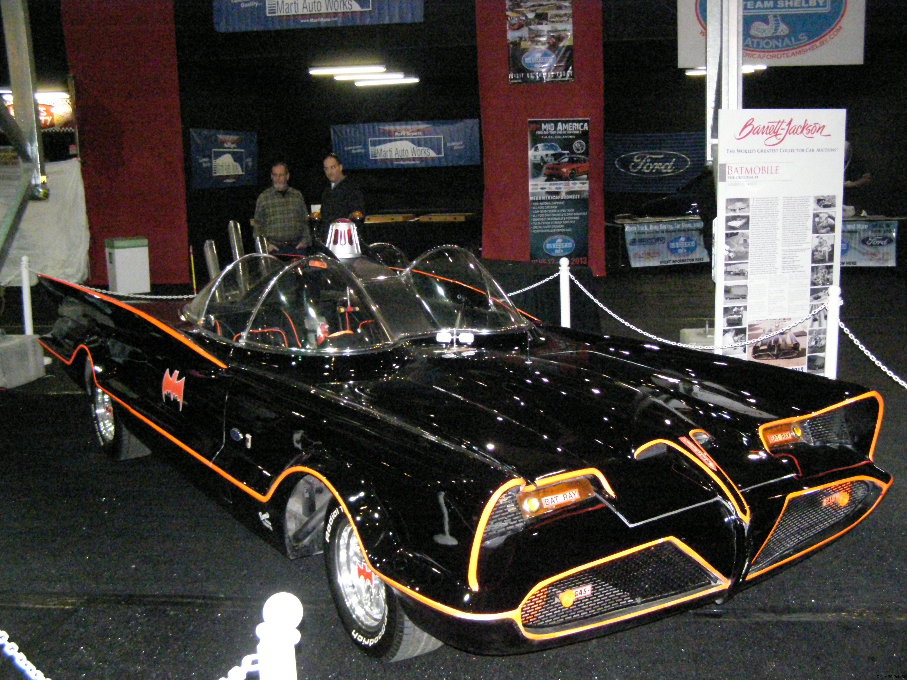 Batmobile view 2