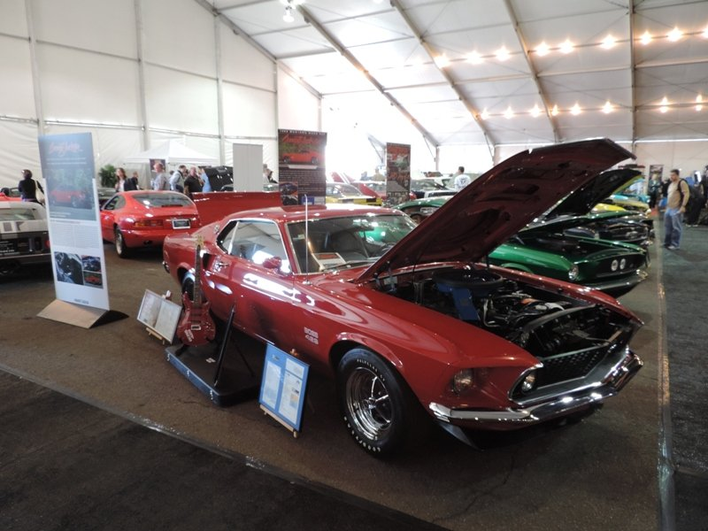Boss 429 Right Front View of Chad Kroeger's Mustang