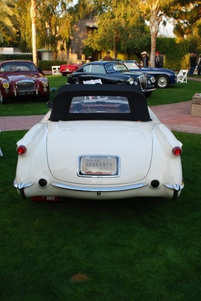 1953 Corvette Back End