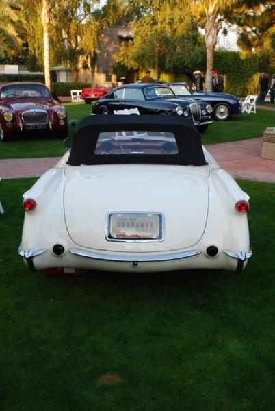 1953 Corvette Back End