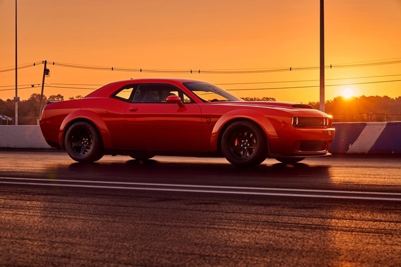Dodge Demon In Sun