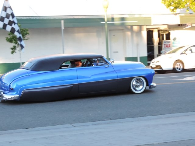 Escondido Lead Sled in Motion