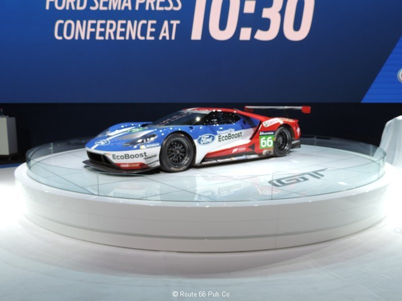 GT in Race Trim from Ford