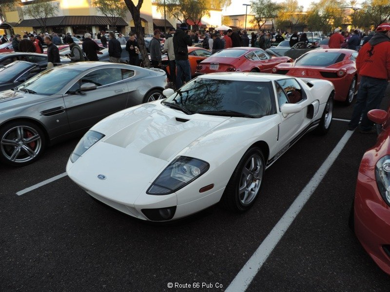 Ford GT in White