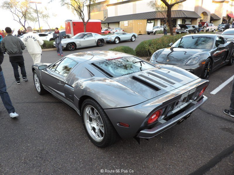 Ford GT in Gray Rear View