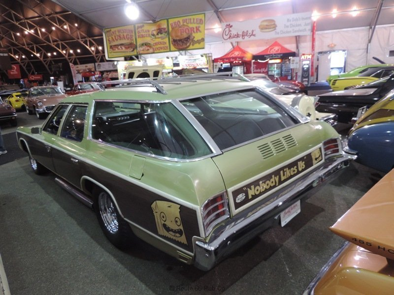 Gas Monkey Garage 71 Wagon Rear view
