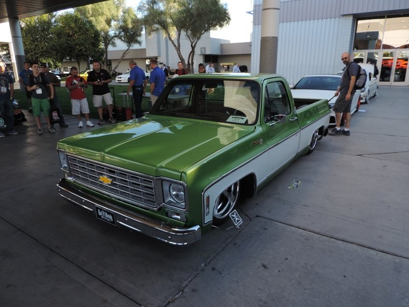 Gas Monkey Garage 76 Chevy C-10 truck front end