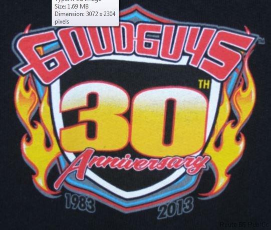 Goodguys anniversary logo