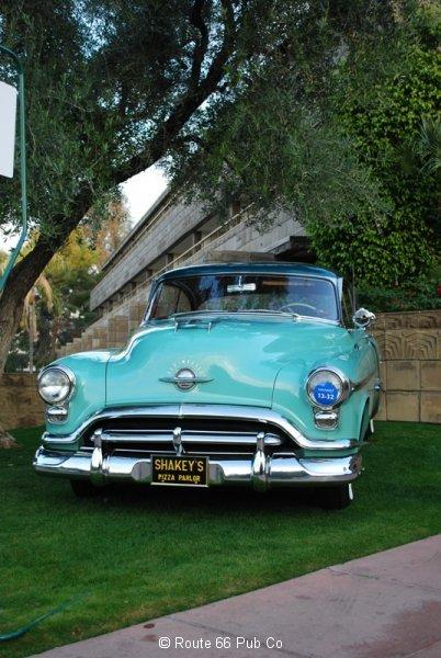 Gordon Apker 52 Oldsmobile Front View