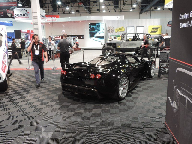 Hennessey Venom GT Rear view