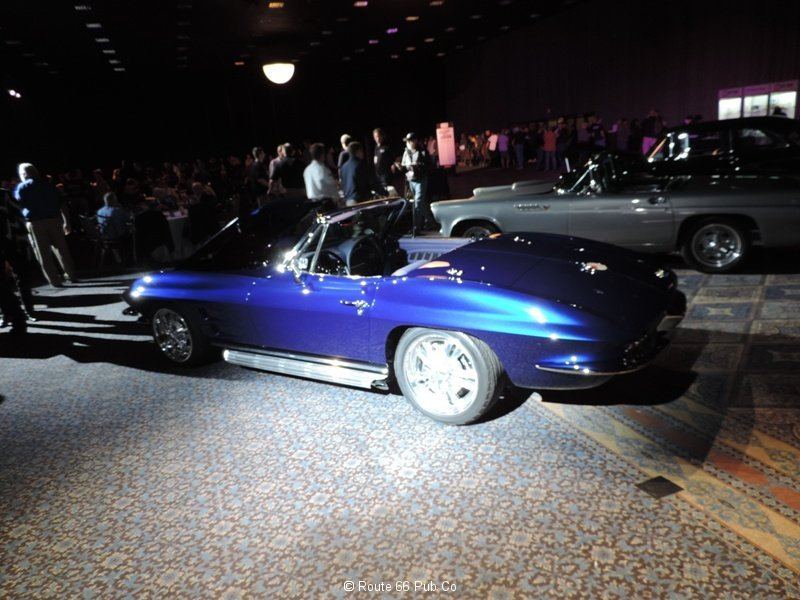 HRIA 63 Corvette side view