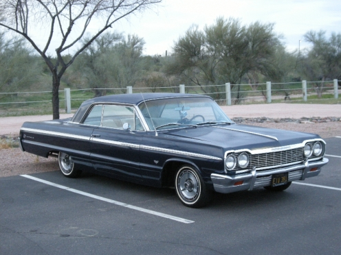 Green Day's Billie Joe Armstrong's 1964 Impala Sold at Silver Auctions in March, 2013