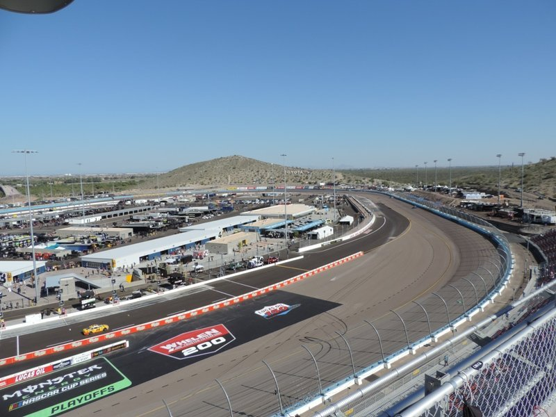 ISM Raceway Overall View