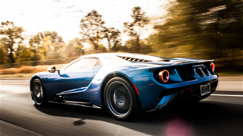 John Cena Ford GT Side View