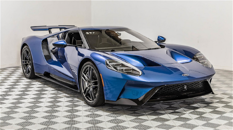 John Cena Ford GT Fronte View