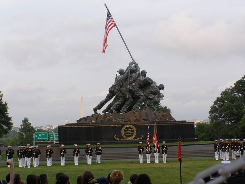 US Marine Corp War Memorial 1