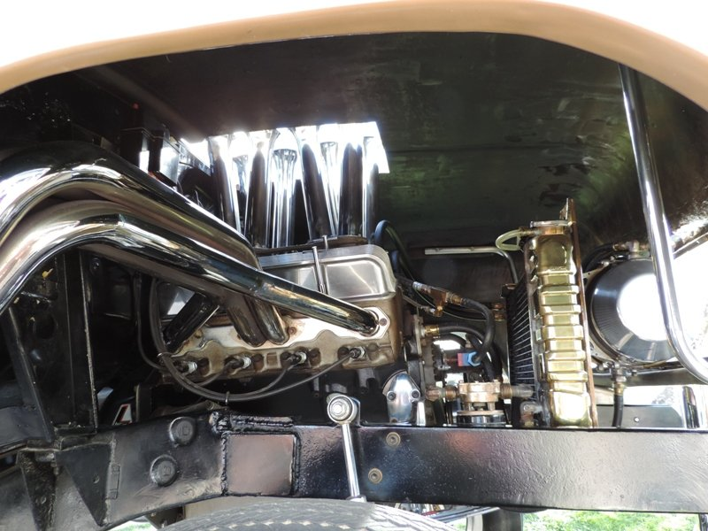 55 Chevy Engine Compartment