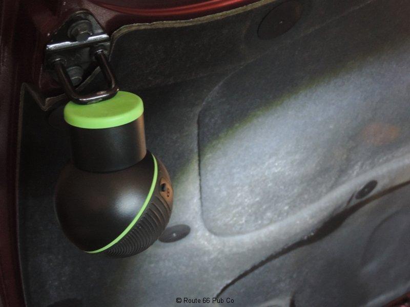Mychanic Pod Light in Use