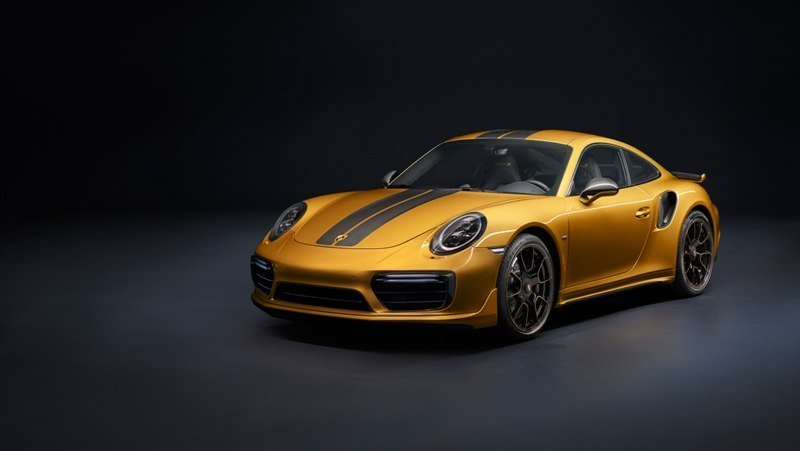911 Turbo S Exclusive Series Front End