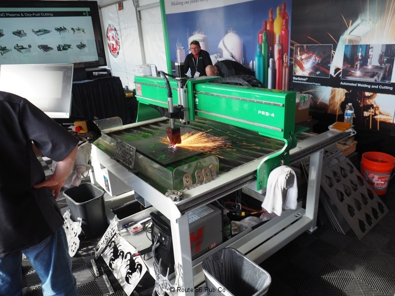 Praxair Plasma Cutter Table