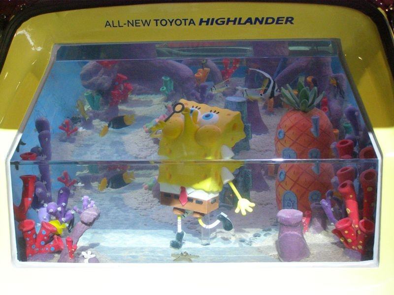 SpongeBob and SquarePants new Tanked home