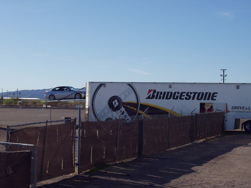 Bridgestone Car Carrier