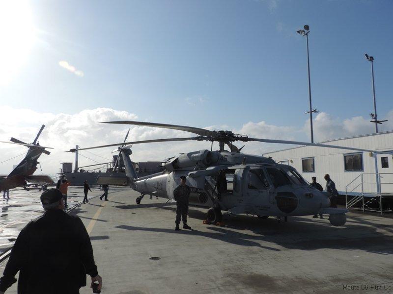 USS Coronado's helicopter