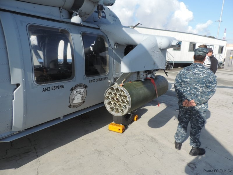Helicopter weapons