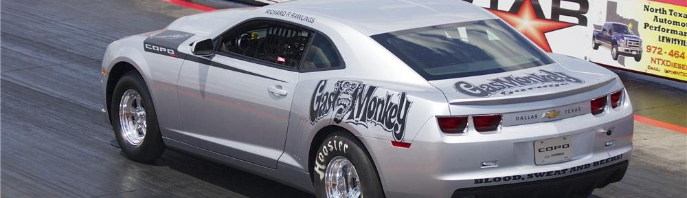 Gas Monkey Garage COPO Camaro Sold at Barrett Jackson