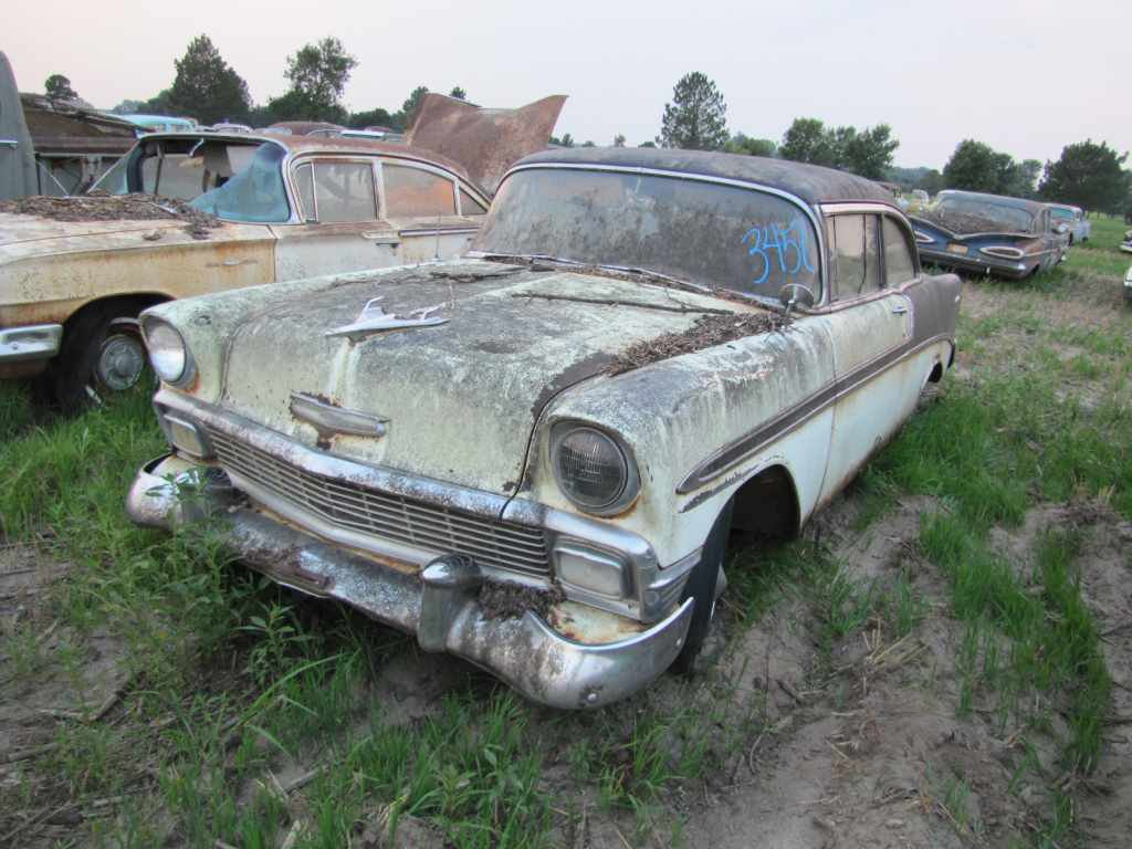 All Chevy chevy 2 door : Lambrecht Auction of Chevrolet's Analysis of 1956 Year - Route 66 ...