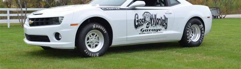 Gas Monkey Garage COPO Camaro selling at Barrett-Jackson