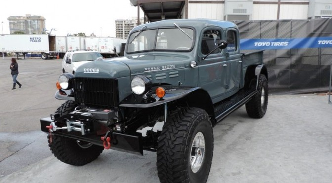 Power Wagon  1949 Four Wheel Drive Beast