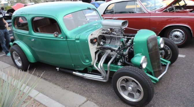 Cars and Coffee Explodes in Scottsdale