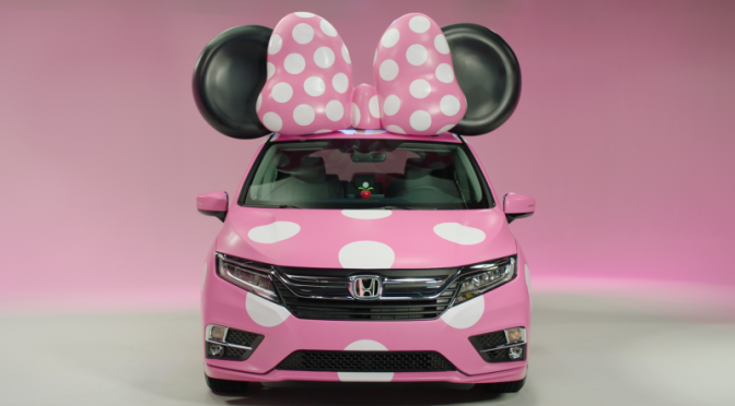 Honda's Minnie Van Is Pink Cuteness